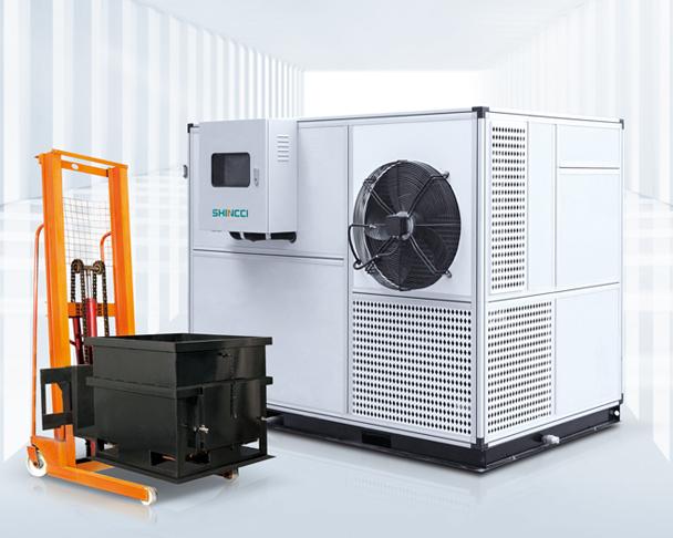 Sunstate Inc Container Type Sludge Dryer Shincci USA