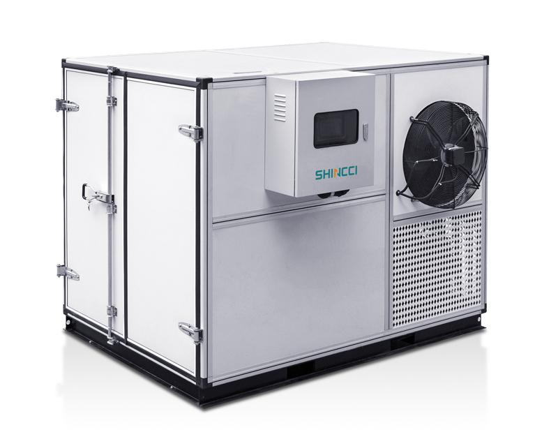 Sunstate Inc Container Type Sludge Dryer System Shincci USA
