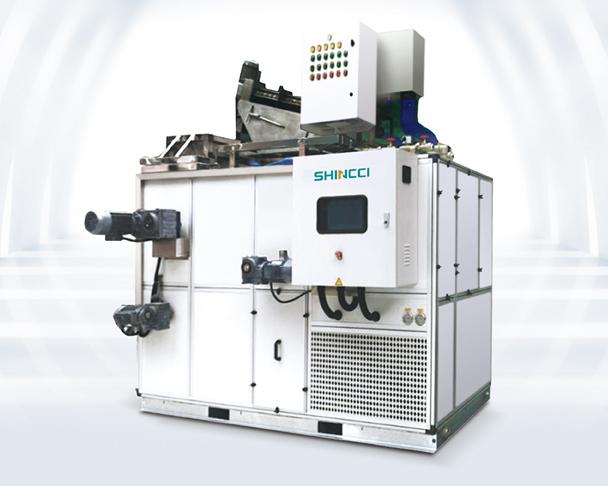 Sunstate Inc De-Watering Sludge Dryer Shincci USA