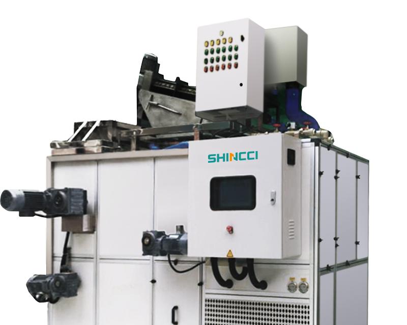 Sunstate Inc De-Watering Sludge Dryer System Shincci USA